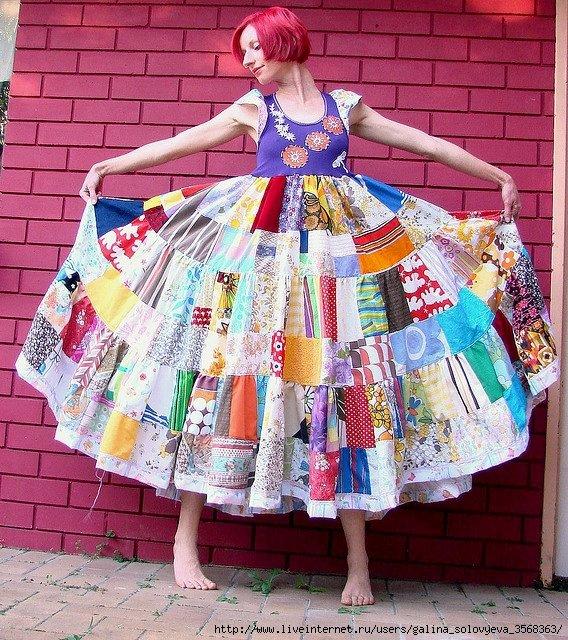 Из куска ситца можно сшить 32 детских платья