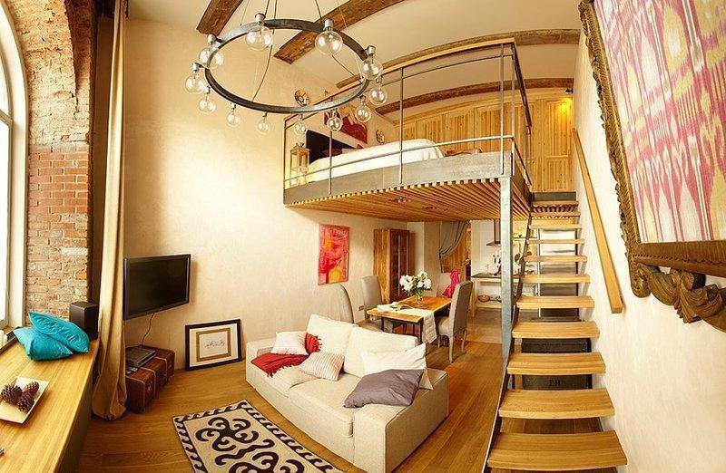 Дизайн маленьких двухуровневых квартир