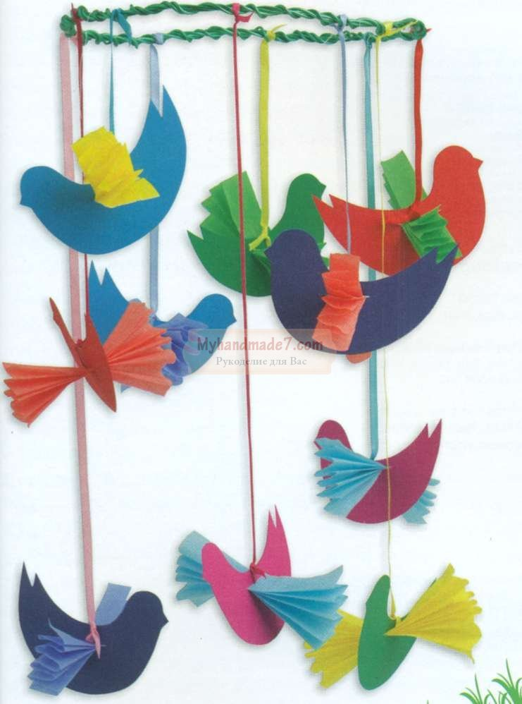 Птички своими руками дети 556