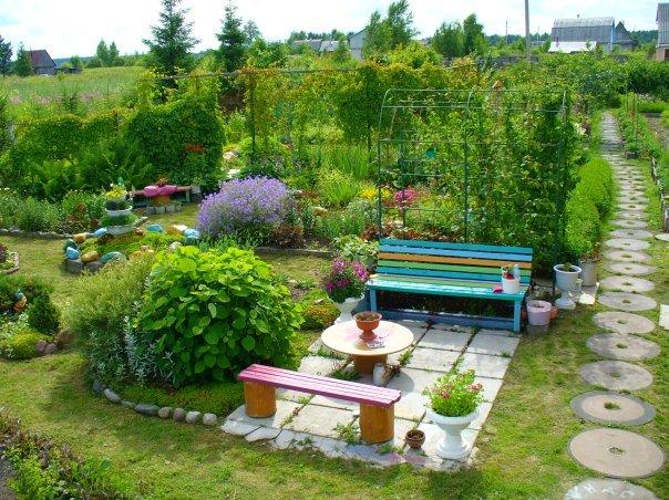 Сад своими руками на даче фото 533