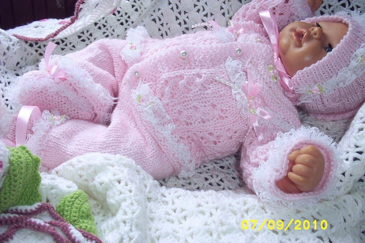 Шикарное вязание новорожденным