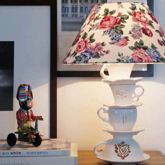 Идеи для настольная лампа своими руками