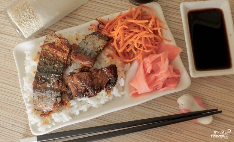 Скумбрия жареная на сковороде рецепт пошагово