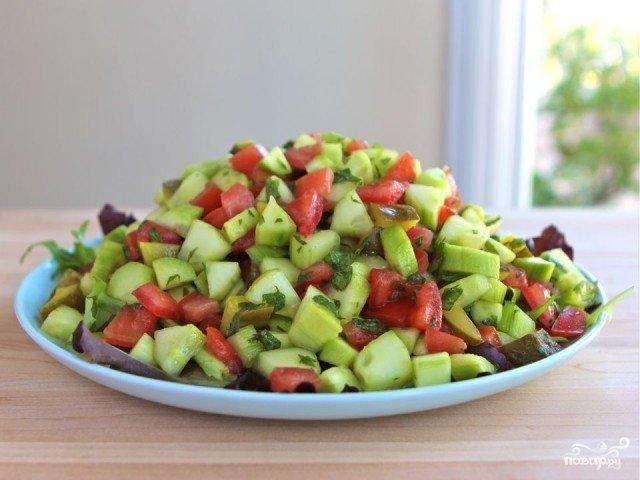 Салат с мятой рецепт с