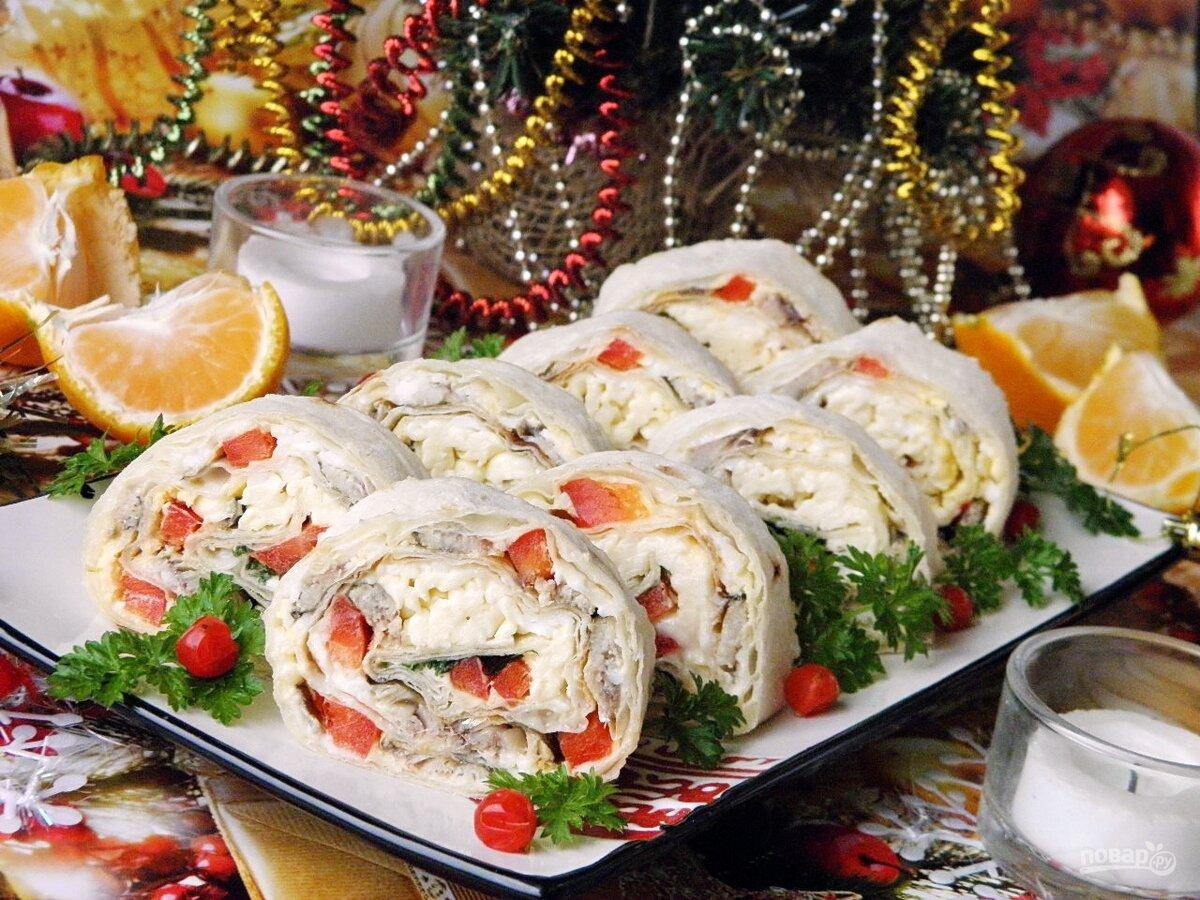 Праздничные закуски на новый год рецепт с