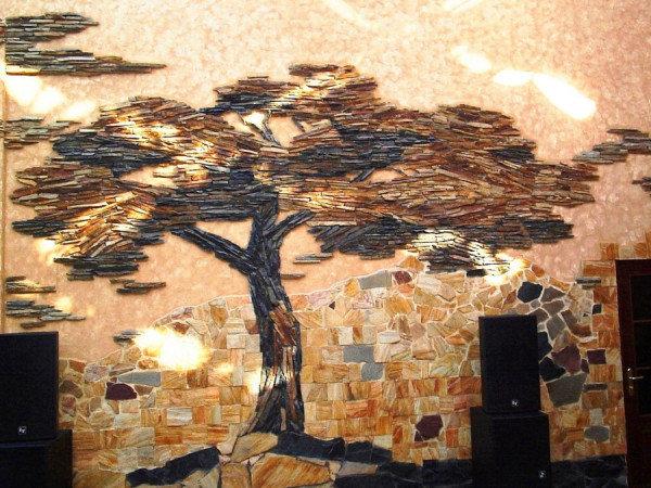 Камень для декора стен своими руками