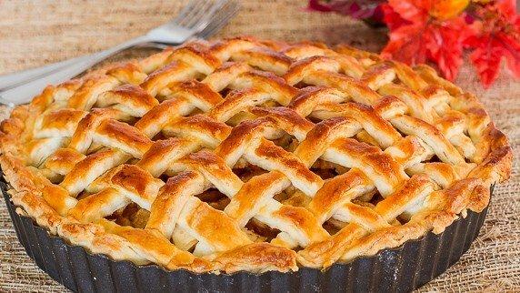 Яблочный американский пирог рецепт