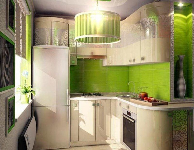 Дизайн маленькую кухню в хрущевки