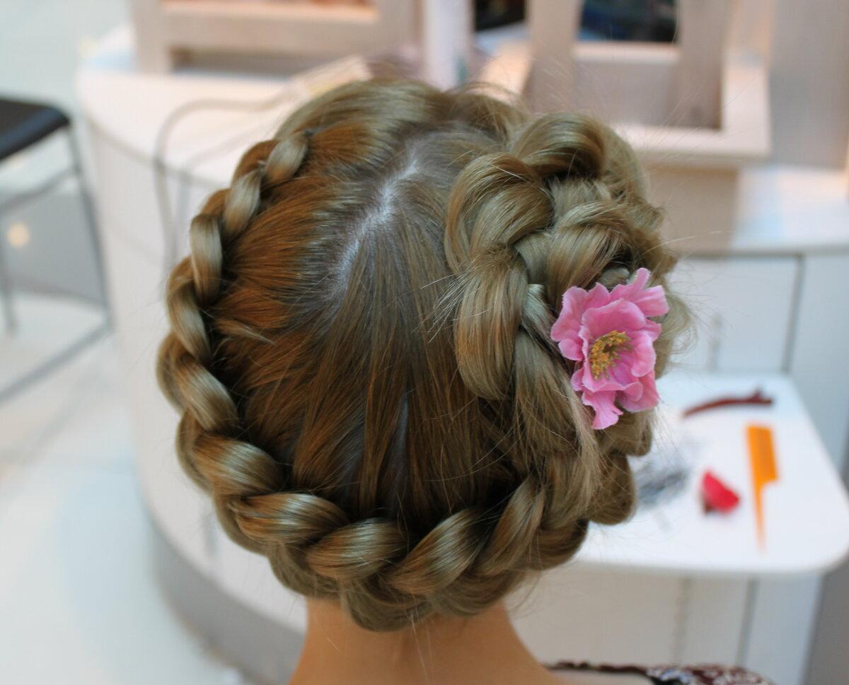 Фото причёсок с косами для девочек