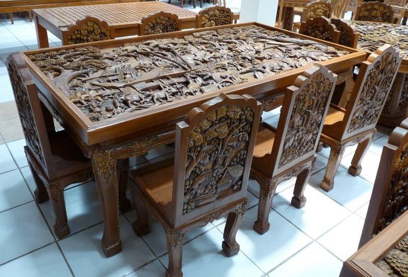 Мебель с резьбой своими руками