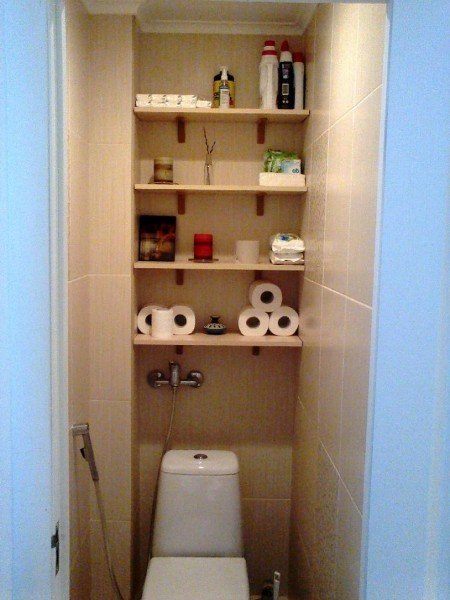 Туалетные полочки своими руками 73