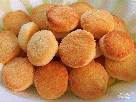Самое простое песочное печенье в домашних условиях