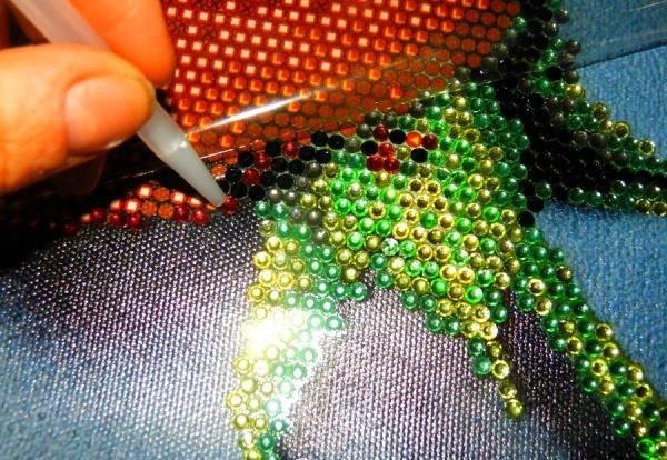 Как правильно вышивать алмазной вышивкой 938