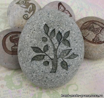 Гравировка по камню своими руками чем сделать