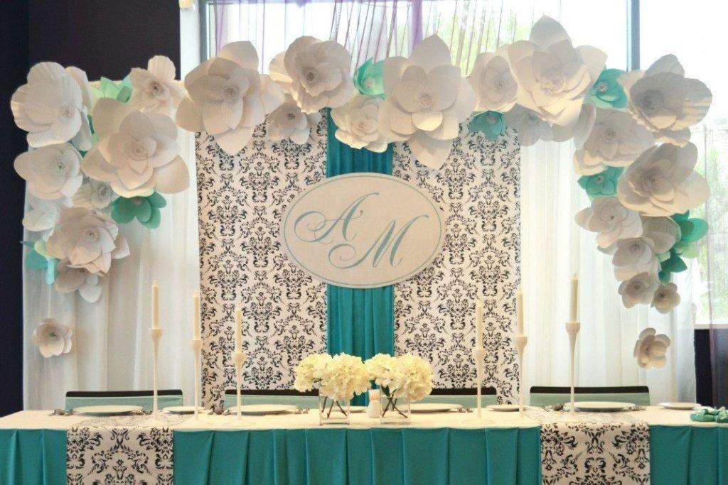 Украсить зал для свадьбы своими руками недорого 476