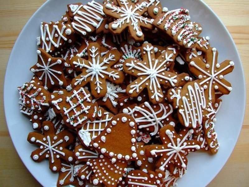 Как сделать новогодние печенье рецепт 40