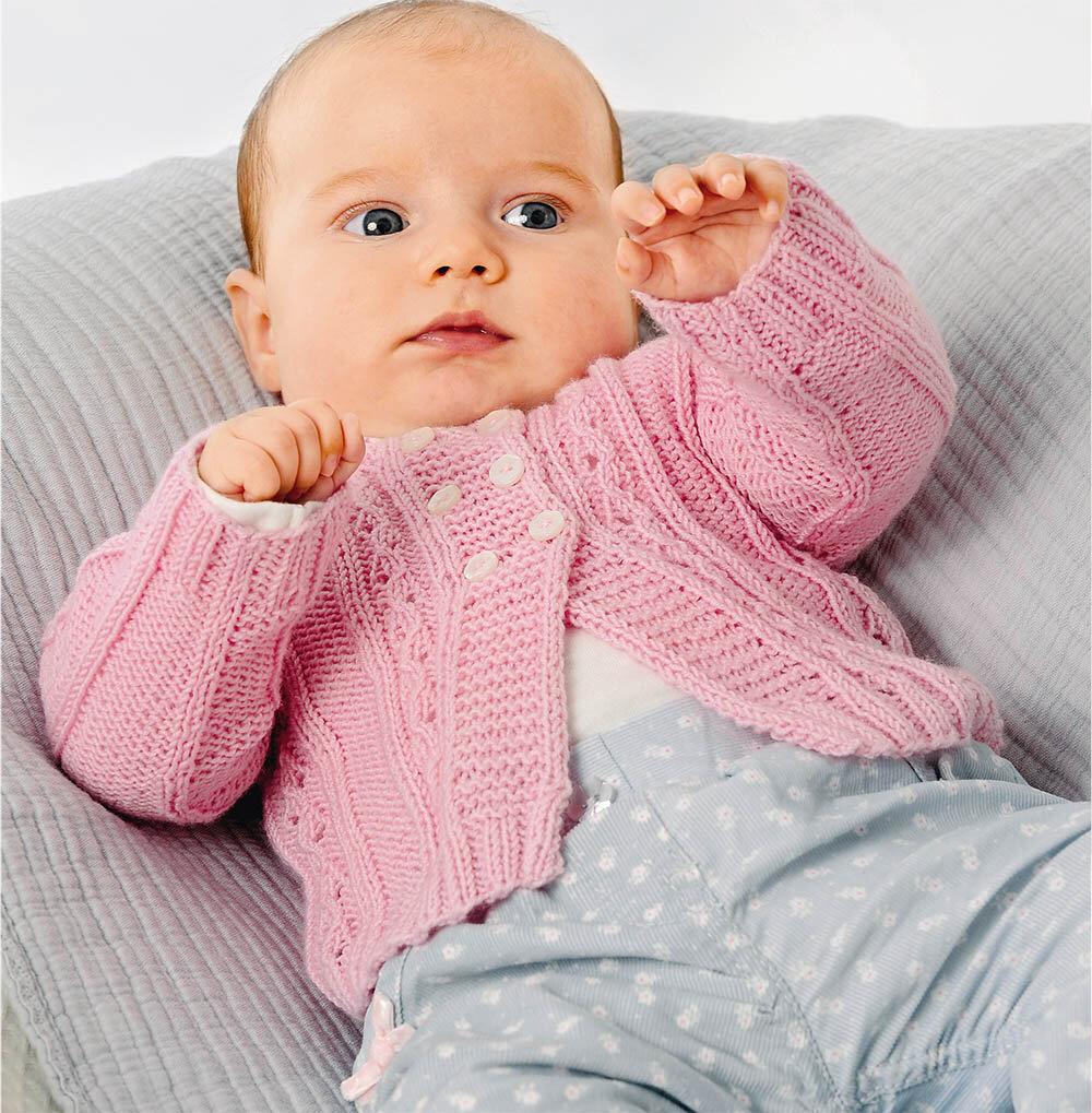 Вязание кофточка для малышки 975