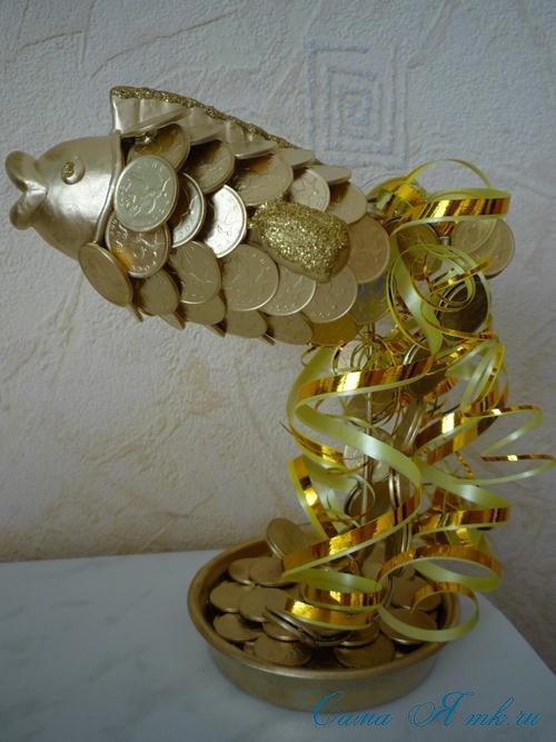 Золотые монеты своими руками 67