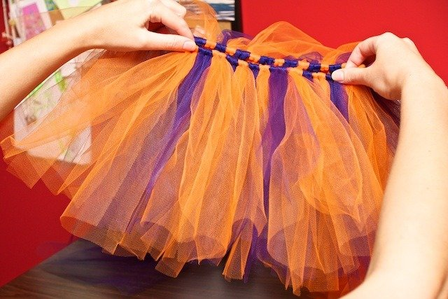 Делаем юбку из фатина