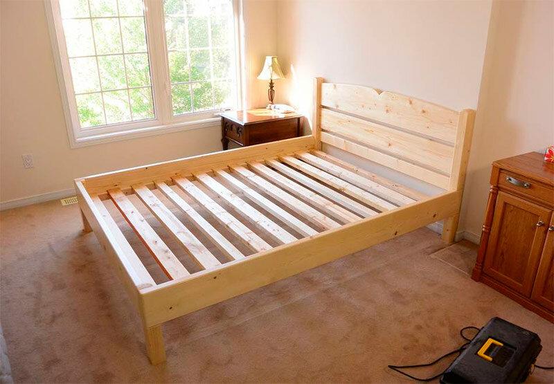 Основание для кровати сделать своими руками 63
