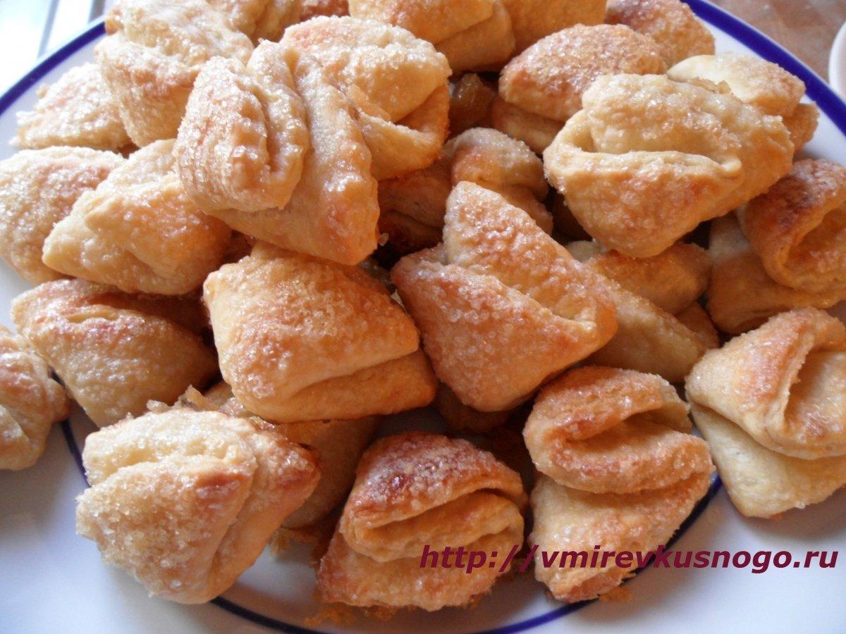 Рецепт печенье треугольники с творогом с пошагово в