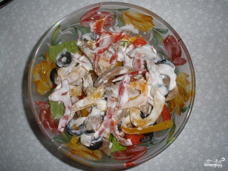 Рецепт салата гранатовый браслет с с грецкими