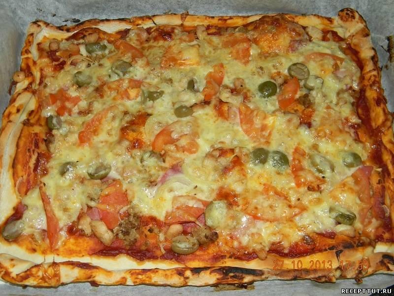 Пицца своими руками рецепты видео