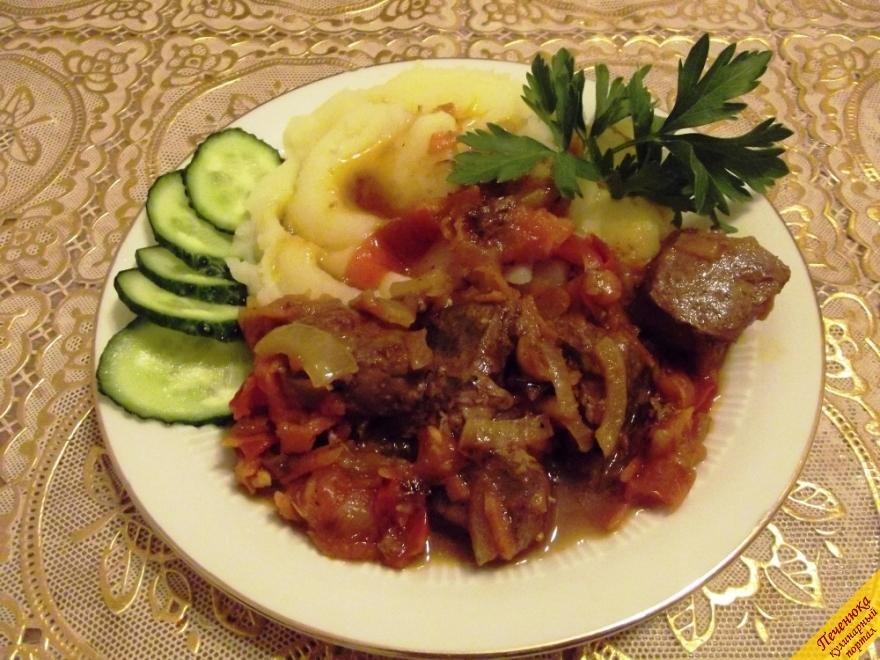 Приготовить свиную печень быстро и вкусно пошаговый рецепт с