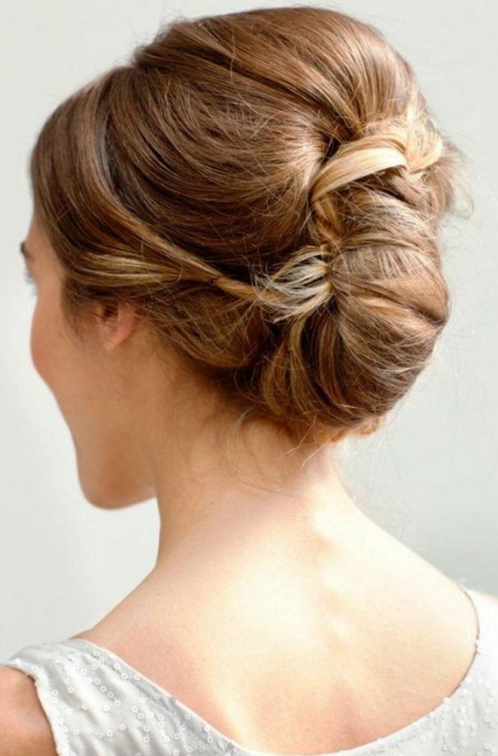 Прическа на короткие волосы начес сзади
