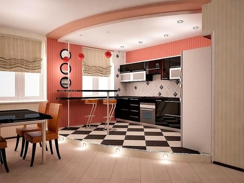 Дизайн кухни гостиной своими руками фото 11