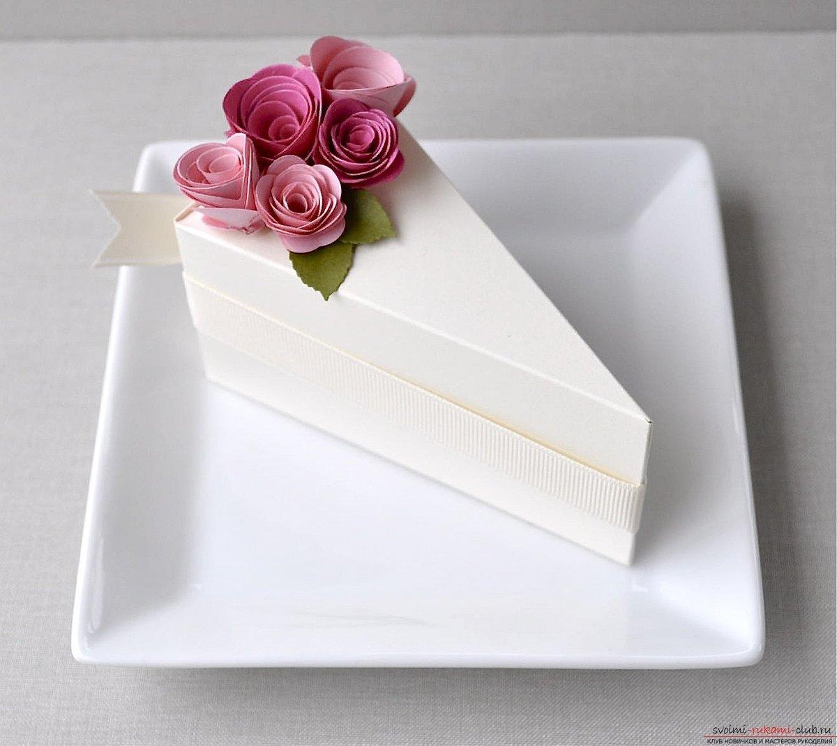 Упаковка для тортика своими руками
