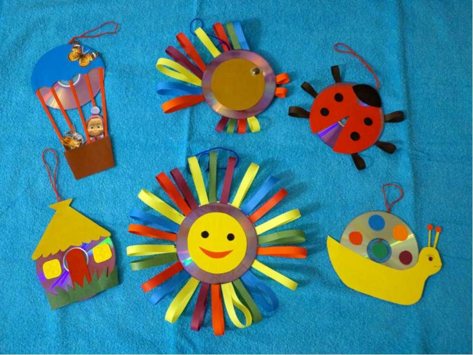 Поделки для детского сада своими руками на площадку в