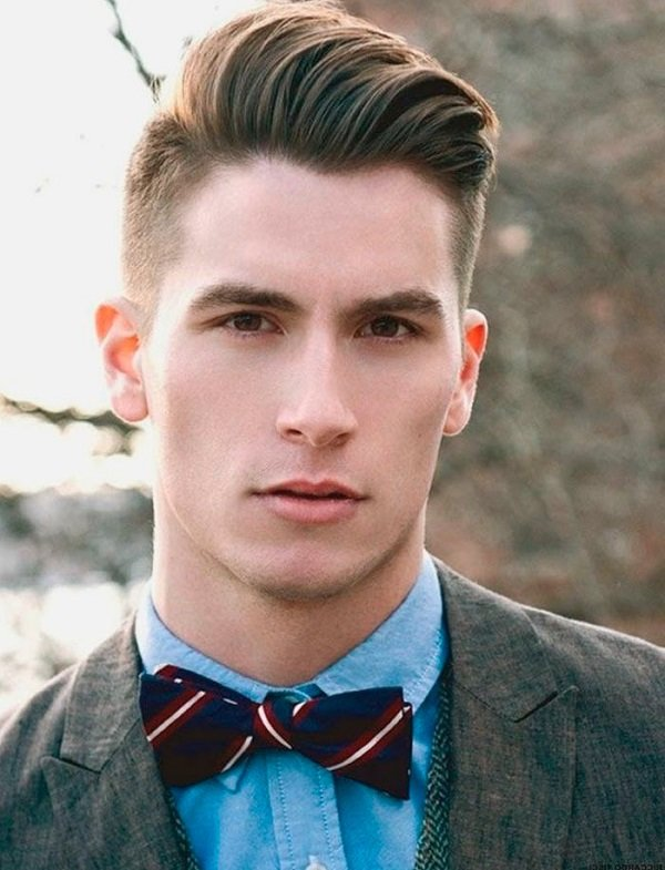 Самые модные фото мужских причесок