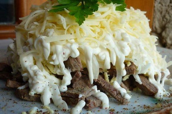 Фото рецепты салат мужской каприз