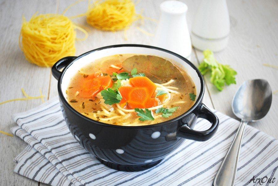 Суп вегетарианский рецепт классический