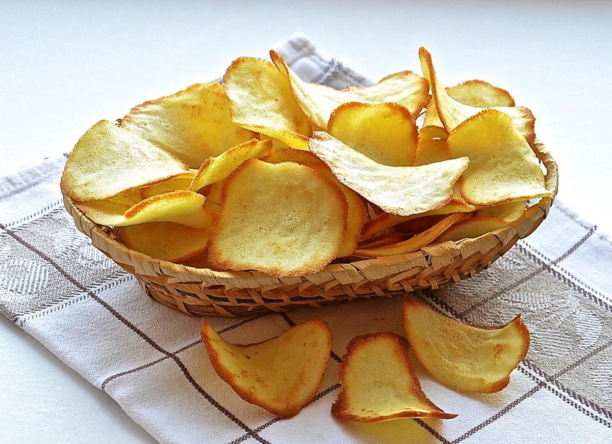 Как сделать чипсы в домашних условиях