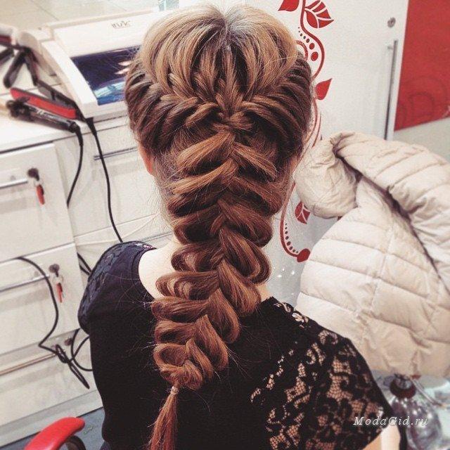 Фото причесок на длинные волосы косички