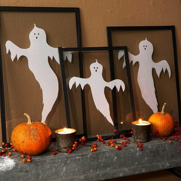 Как украсить комнату своими руками хеллоуин