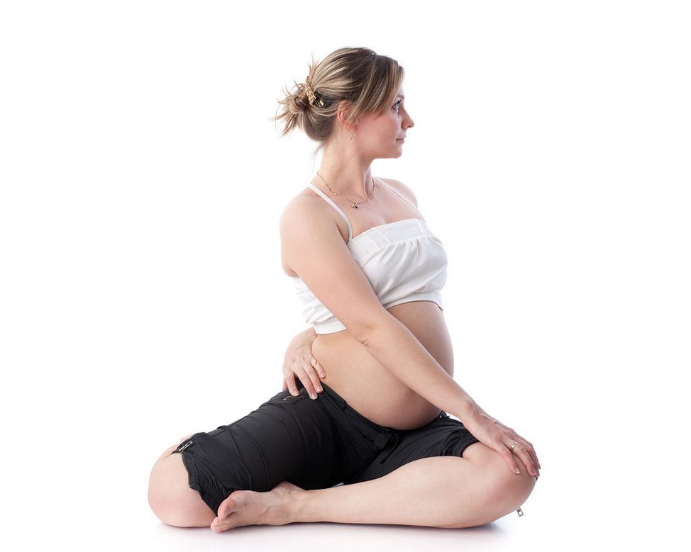 Вечерняя йога для беременных 96