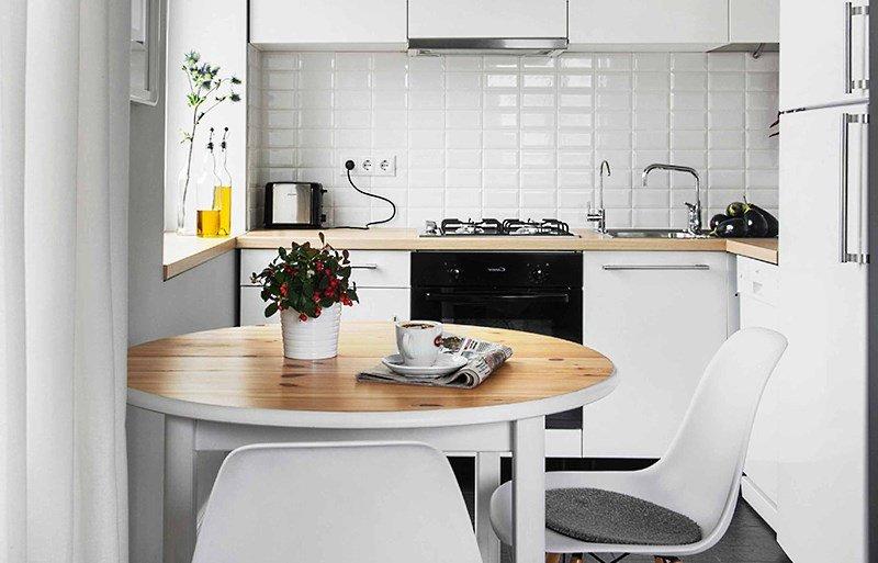 Студия хрущевка дизайн с холодильником