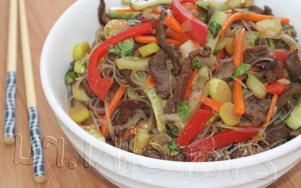 Салат с мясом говядины без майонеза рецепт с