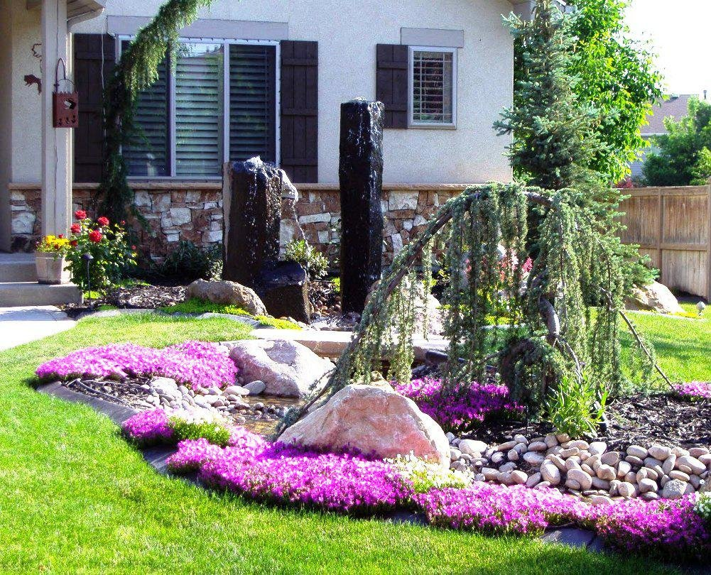 50 Best Front Yard Landscaping Ideas and Garden Designs for 2018 Front garden design ideas pictures