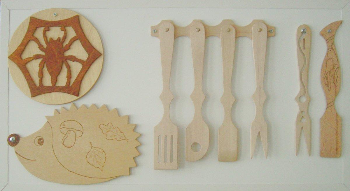 Изделия для кухни из фанеры своими руками