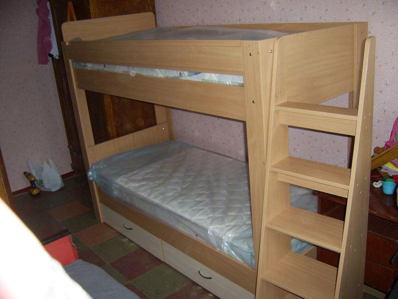 Кровати двухъярусные из дсп своими руками