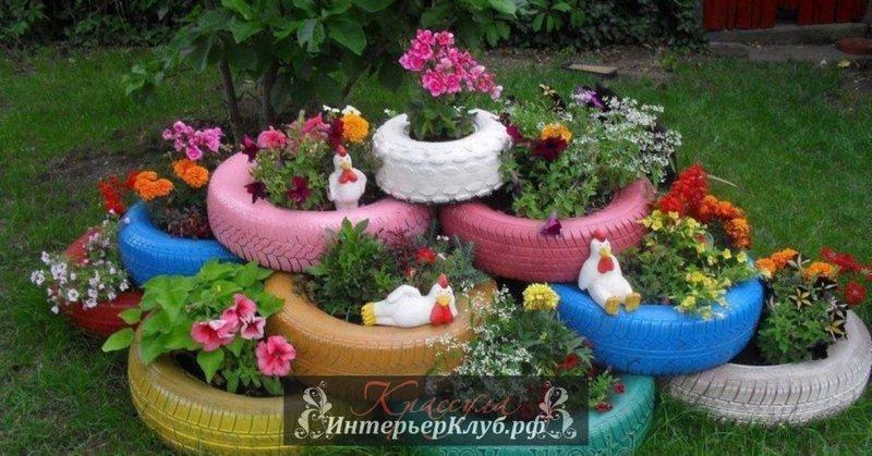 Как декорировать свой садовый участок своими руками
