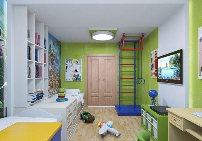 Дизайн детских комнат для мальчиков икеа