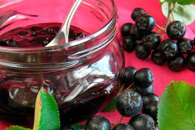 Варенье из черноплодная рябина