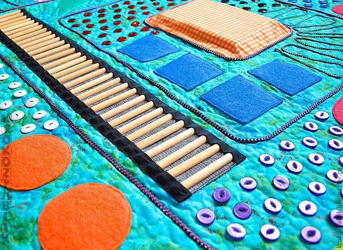 Массажный коврик своими руками для детей в садик