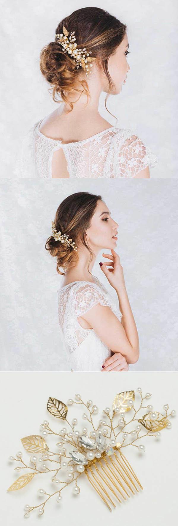 Свадебные прически, 280 фото красивых свадебных причесок 83