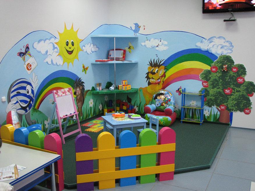 Оформление игровой комнаты в детском саду своими руками 49
